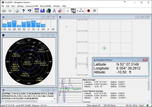 VisualGPS screenshot