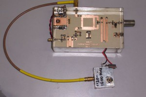 13 cm  down converter (IK8UIF) with local oscillator