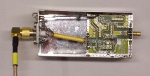 13 cm, 1 Watt amplifier