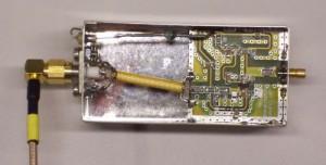 13 cm, 1 Watt amplifier