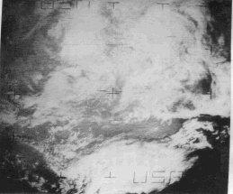 Picture from NIMBUS satellite