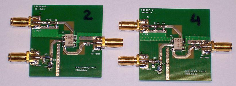 MSA mixers 2 and 4