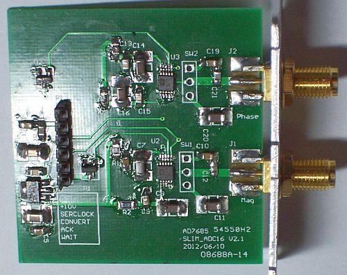 16 bit A/D Converter