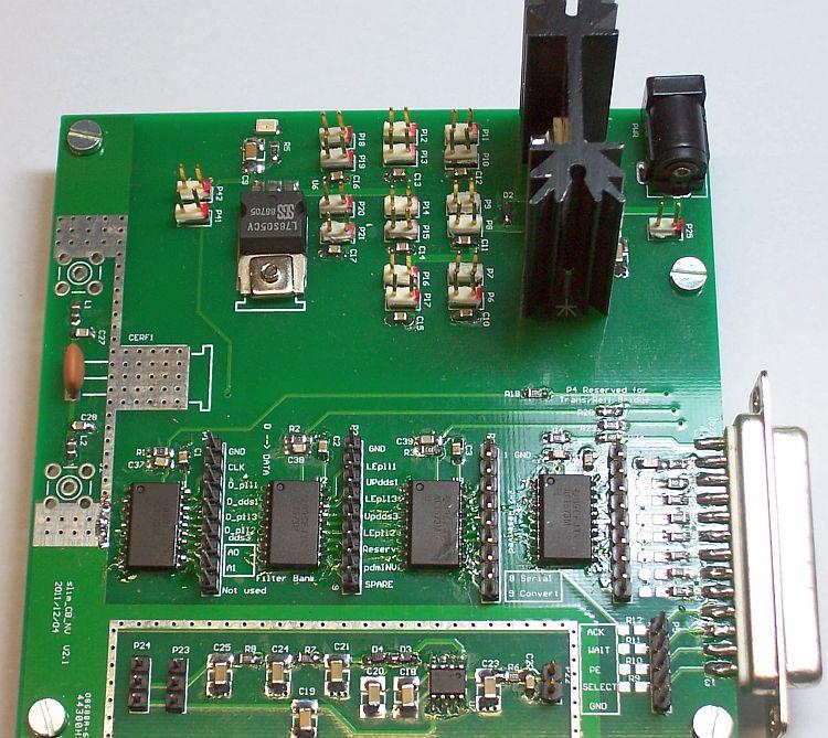 MSA Control board