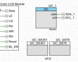 2 VFO components