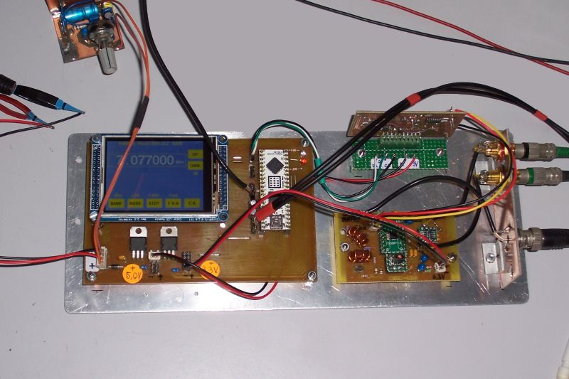 PS0C-SDR build by Tom, PA0TZE
