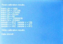 2 - Calibration results