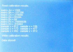 2 - Calibration results