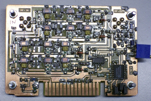 The HF-module with pin-diode control