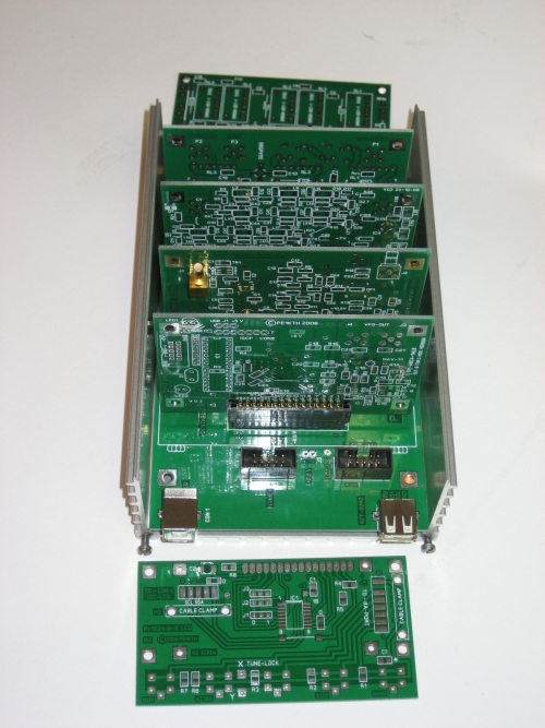 Enlosure and PCB's