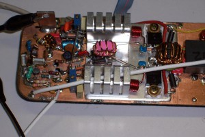 Pre-amplifier with BFR96, 2SC2166 and 2 x IRF510