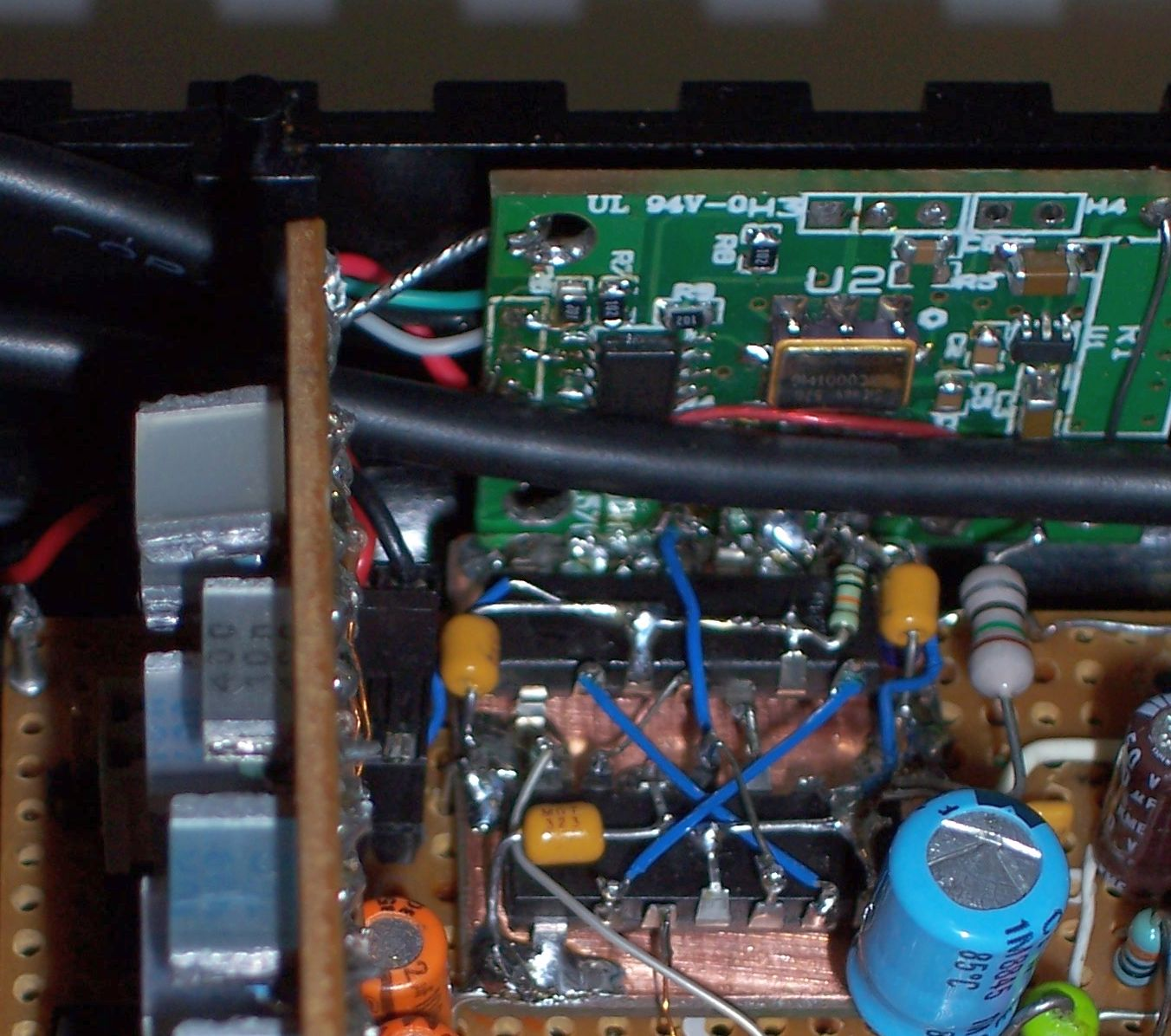 VFO modification with Si570