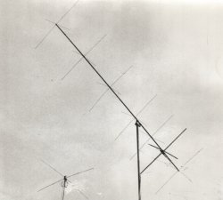 137 MHz 7 elements cross-yagi