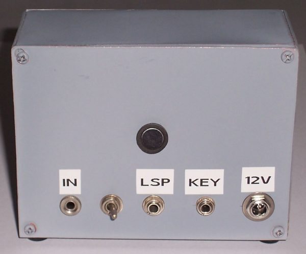 Decoder backside view