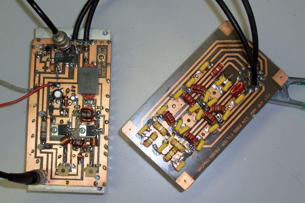 Amplifier and Low Pass Filters