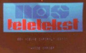 First Teletekst transmission