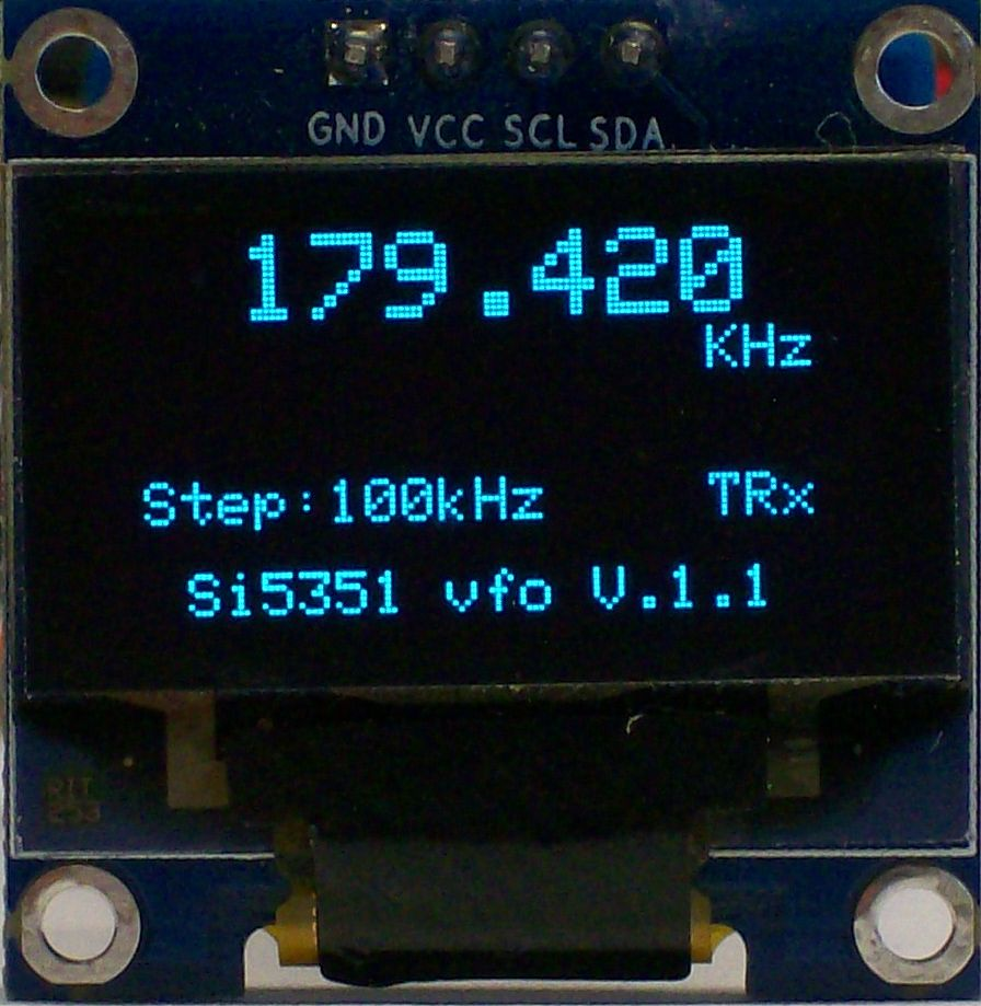 Universal VFO based on the Si5351 – PAøRWE